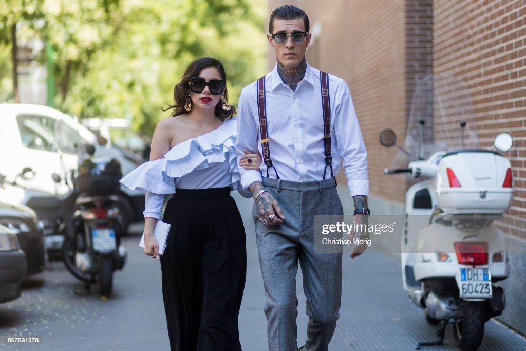 Street Style: June 19 - Milan Men's Fashion Week Spring/Summer 2018