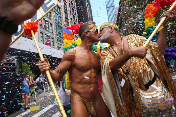 NY: Thousands Flock To Annual Pride March  In New York City