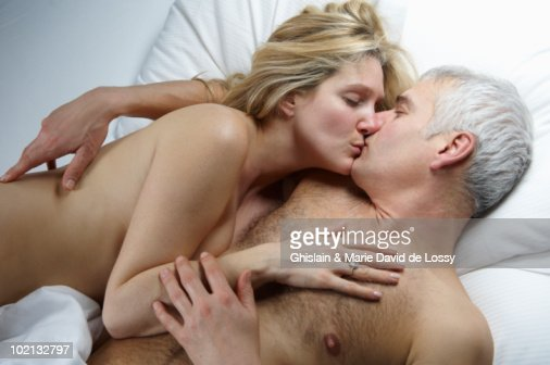 from Gage neked couple kissing image