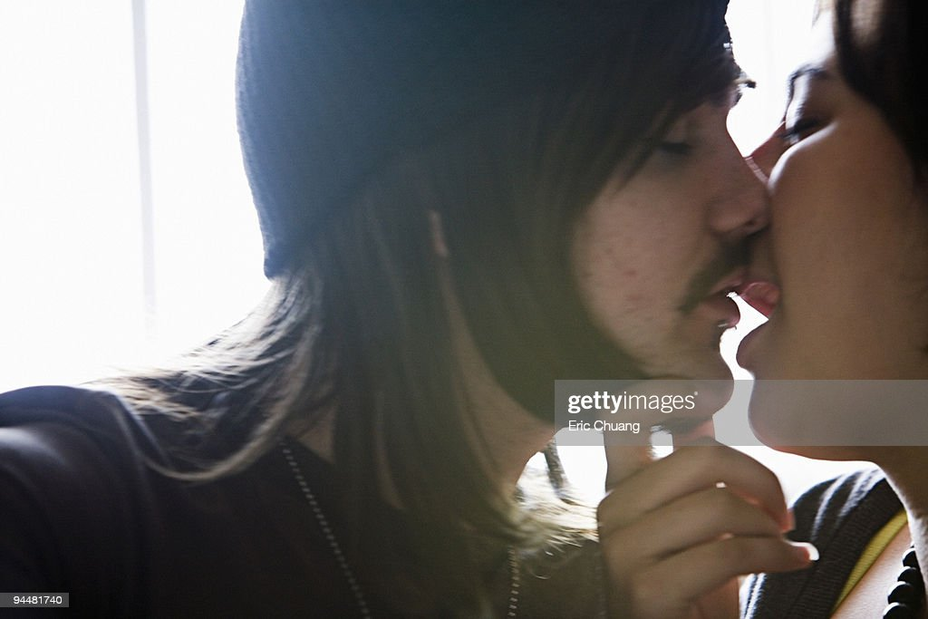 Couple kissing : Stock Photo