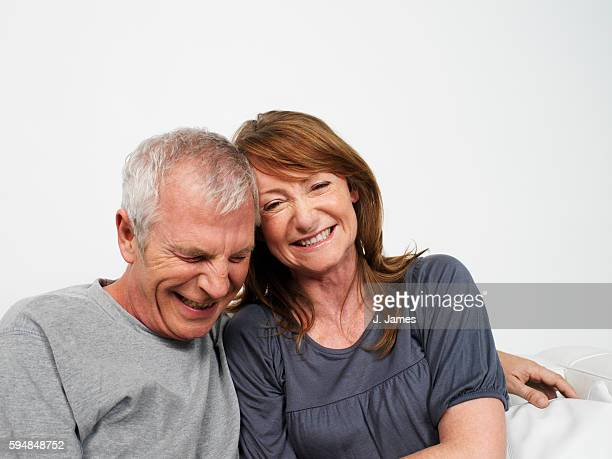 Couple Laughing Together