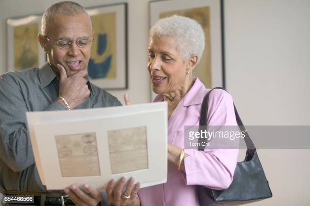 Couple Looking at Artwork