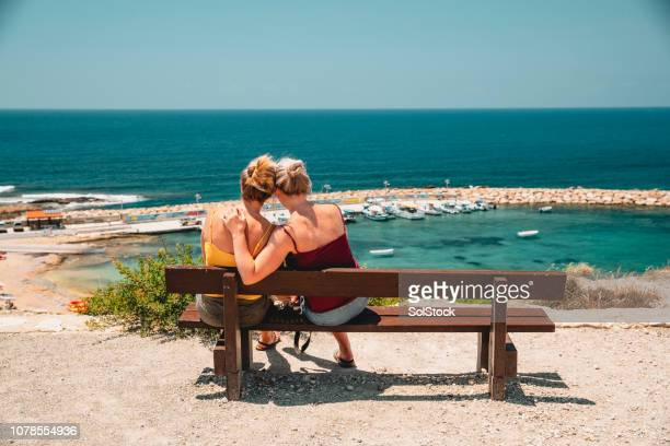 Couple Looking at the View