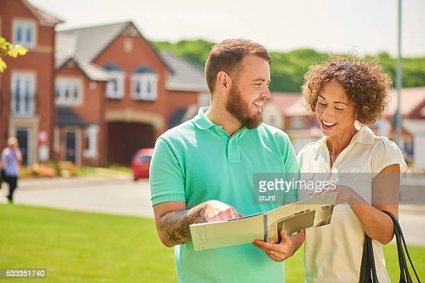 couple looking for new home