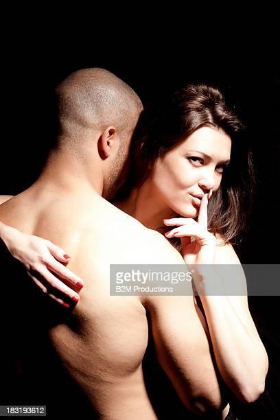 Couple making love