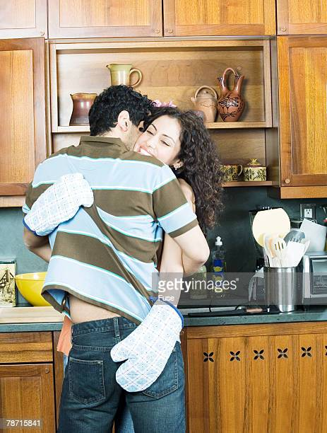 Couple Making Out in the Kitchen