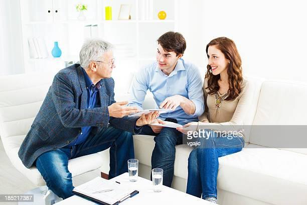 Incontro coppia con Consulente finanziario