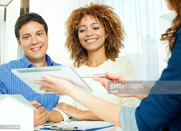 Couple Meeting with Interior Designer