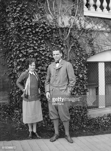 A couple of honeymooners Mr and Mrs Henry Steele Roberts of NY
