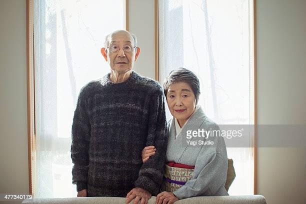 Couple of senior, Japan
