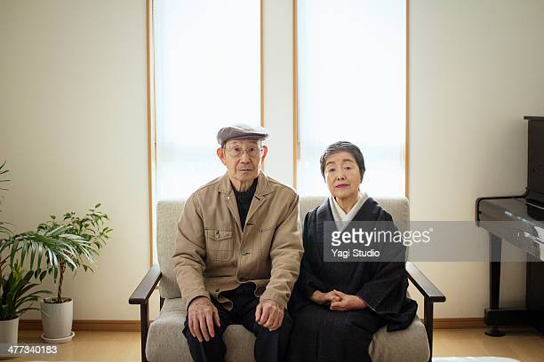 couple of senior, japan - leanintogether stock pictures, royalty-free photos & images