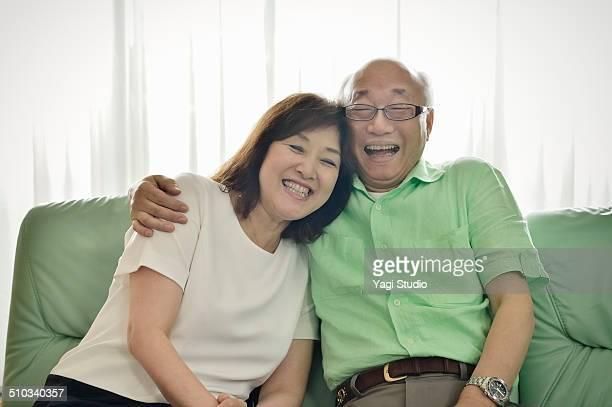 Couple of senior