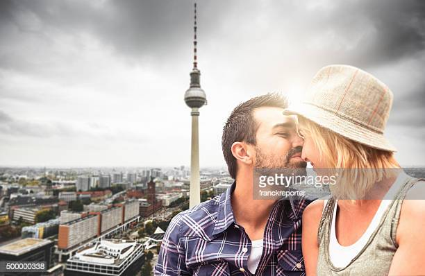 Paar Touristen in berlin