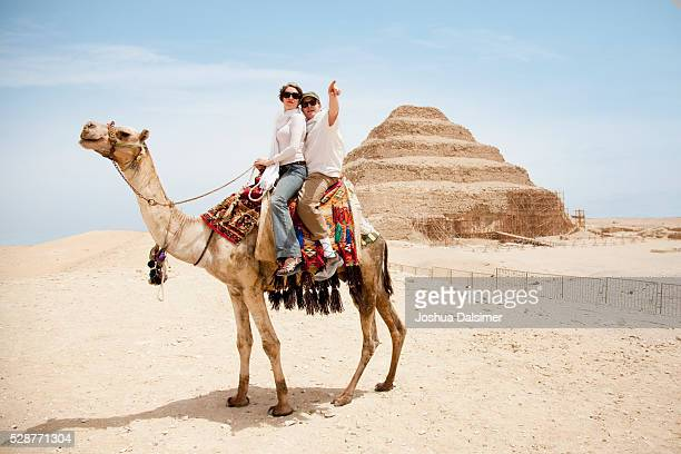 Couple on a camel
