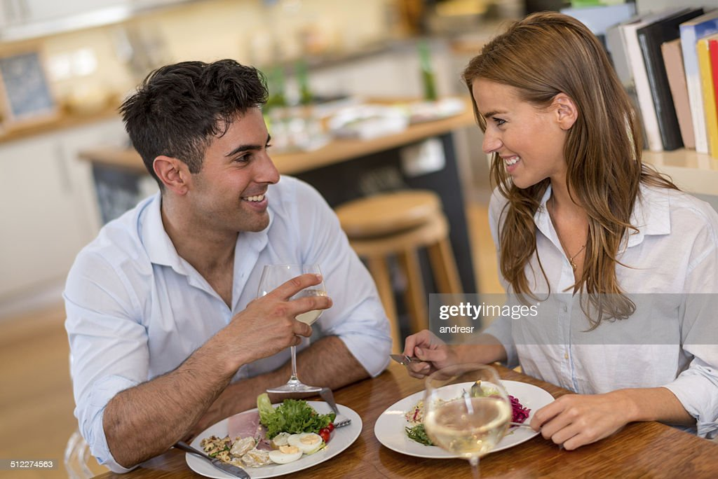 Couple on a date : Stock Photo