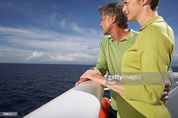 Couple on Cruise Ship