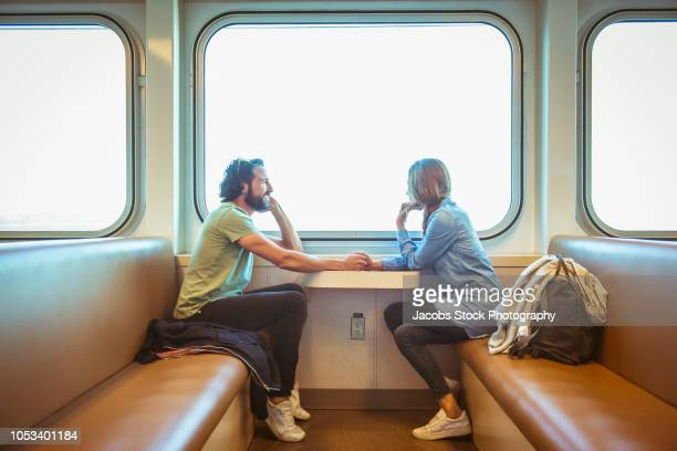 Couple on Ferry Boat