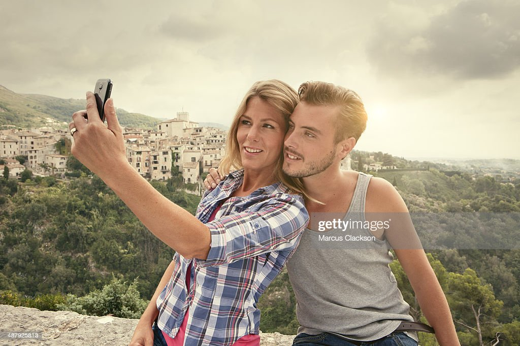 Couple on Holiday in Provence.South of France : Stock Photo