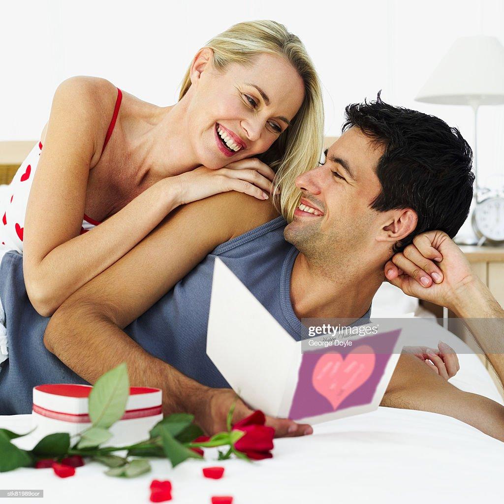 couple on valentine's day : Stock Photo