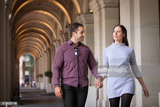 Couple Out in the City