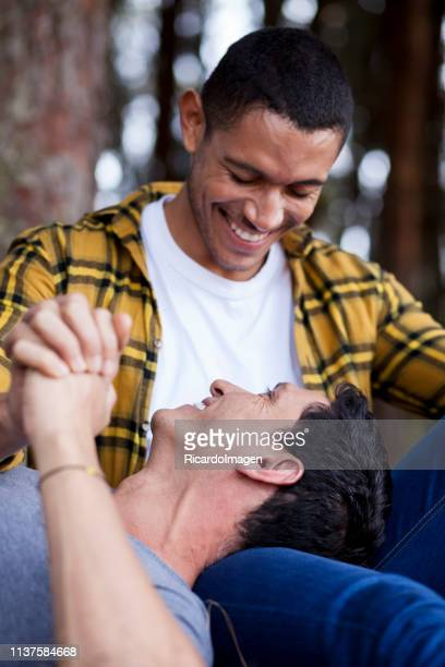 lgtbi couple - human relationship stock pictures, royalty-free photos & images