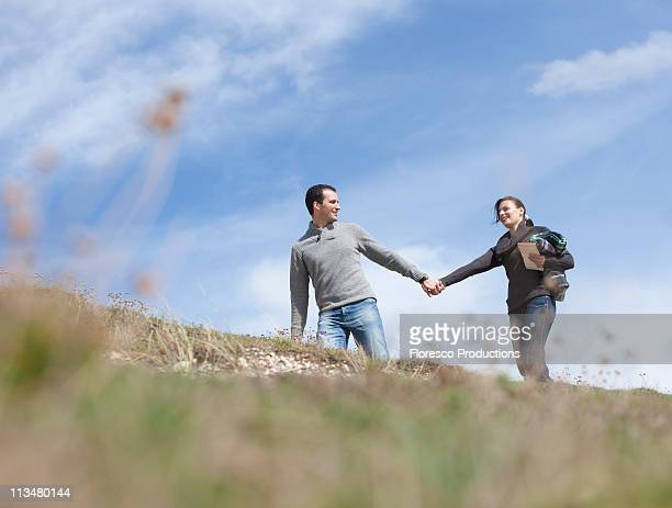 Couple reconnecting