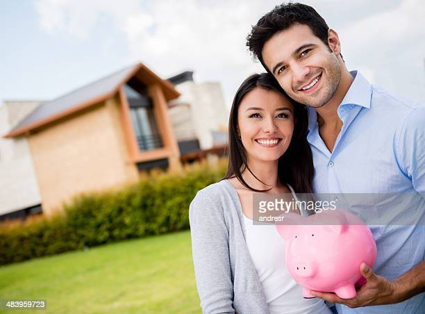 Couple saving for their house