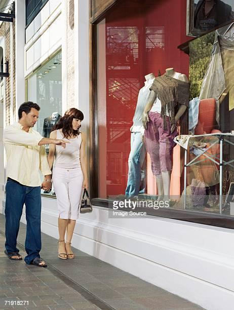shopping en Couple