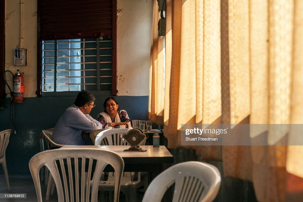 Indian Coffee House In Nagpur India : News Photo