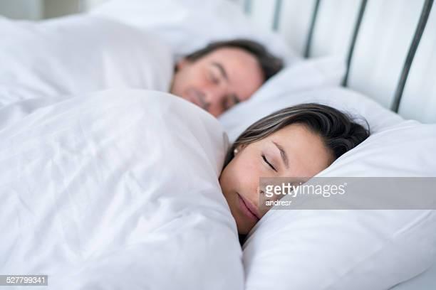 Couple de dormir