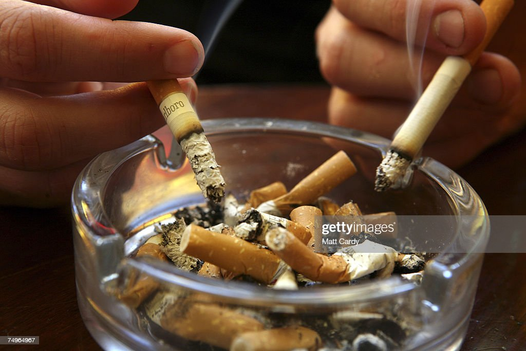 Smoking Ban Comes Into Effect In England : News Photo