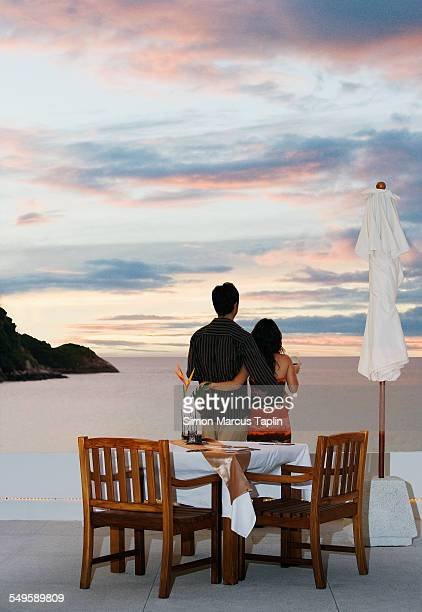 Couple Standing by Seaside