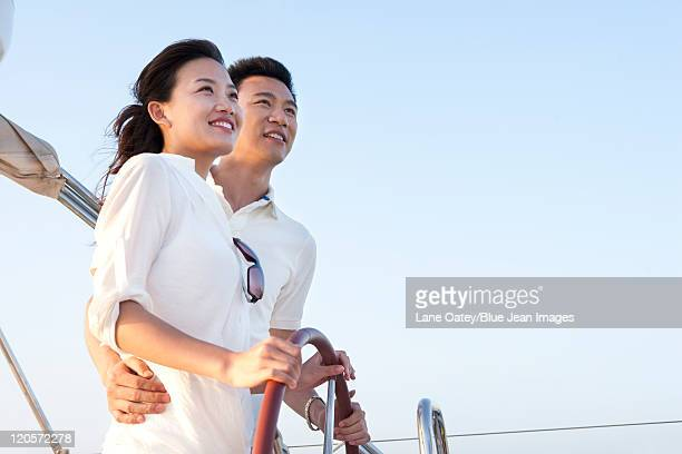 Couple Steering Together