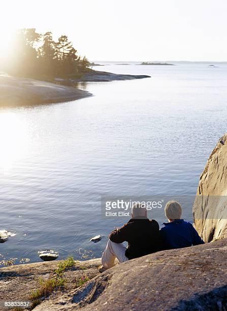 A couple Stockholm archipelago Sweden.