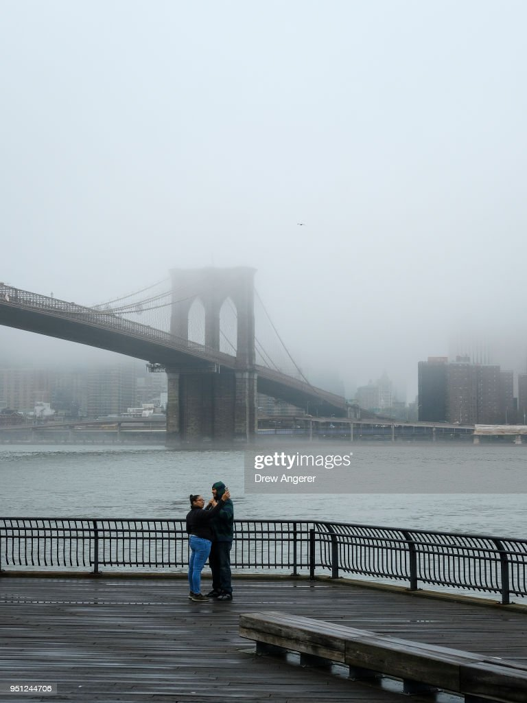 Thick Fog Envelops Parts Of Manhattan