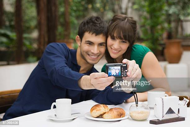 Couple taking a picture