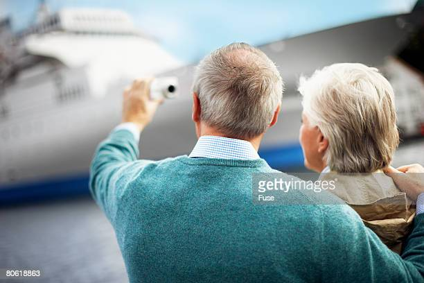 couple taking photograph of themselves - fanny pic stock photos and pictures