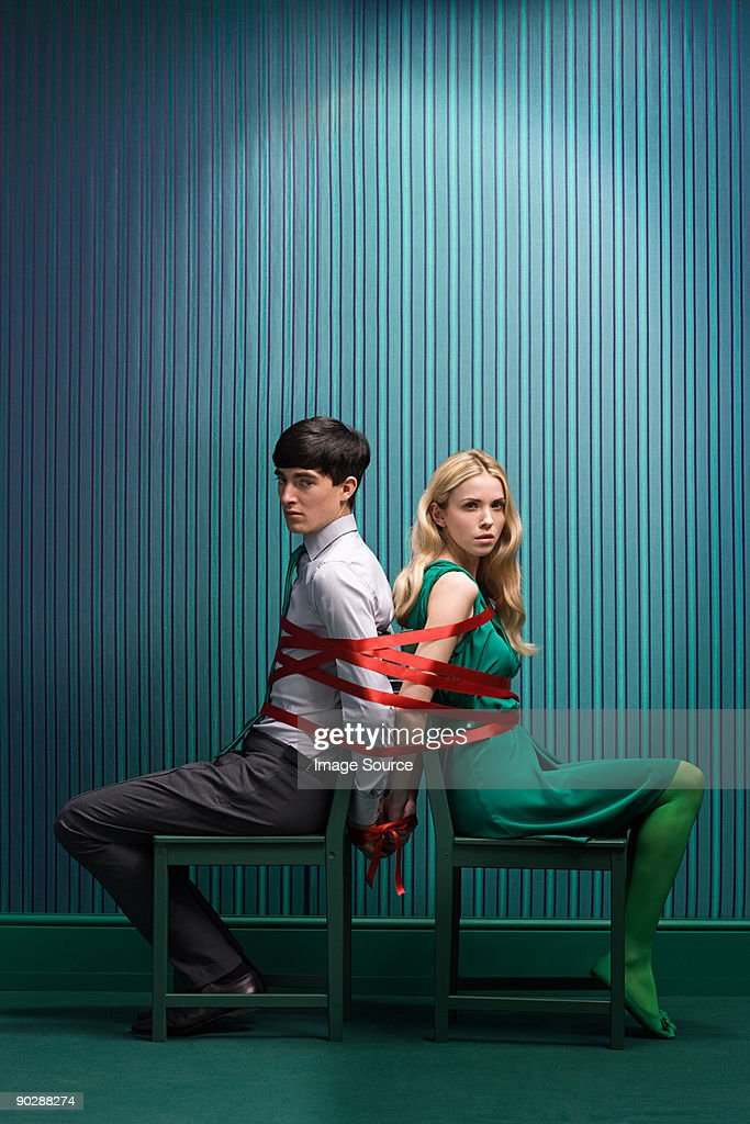 Couple Tied Together High-Res Stock Photo - Getty Images-1334