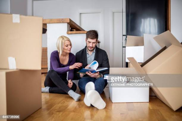 Déballage des boîtes de couple