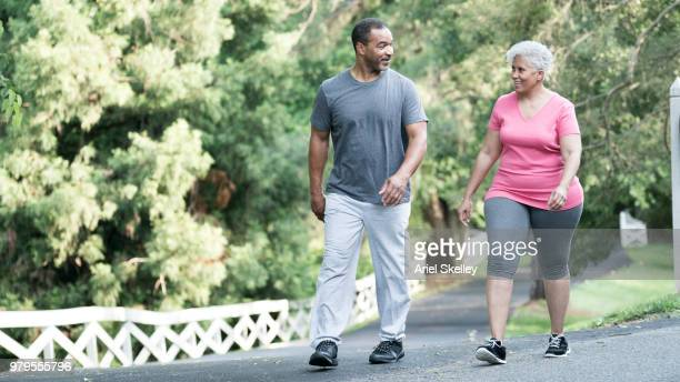 Couple Walking for Fitness