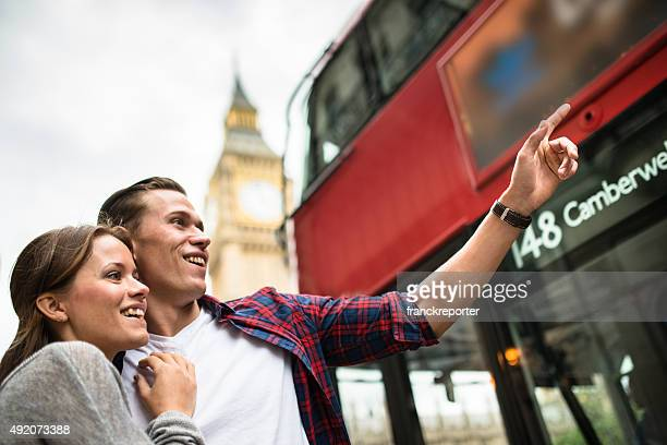Couple walking togetherness in London