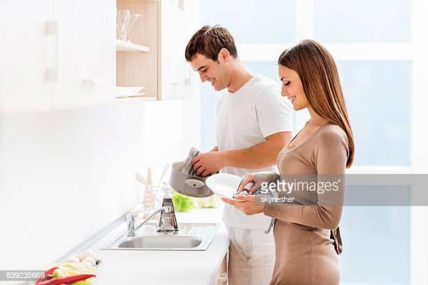 カップル洗濯料理をお楽しみいただけます。