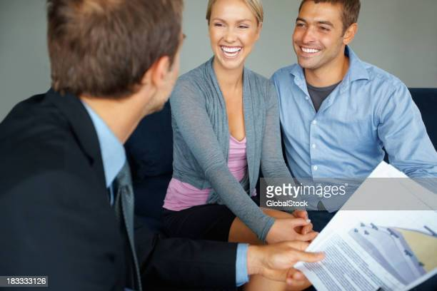Couple with advisor