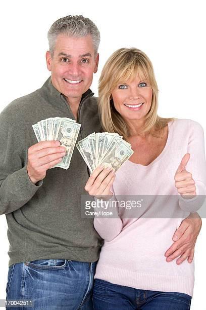 couple with money