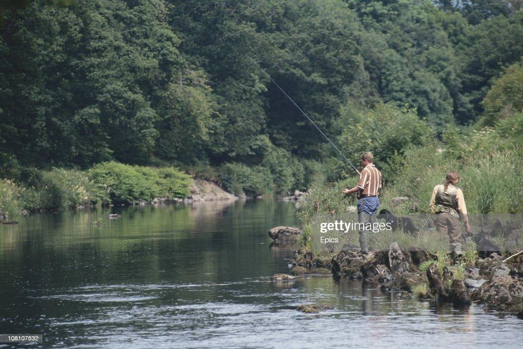 Fishing On The Earn : News Photo