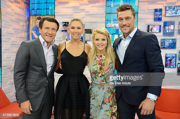 AMERICA Couples booted off 'Dancing With the Stars' appear on GOOD MORNING AMERICA 5/6/15 airing on the ABC Television Network ROBERT