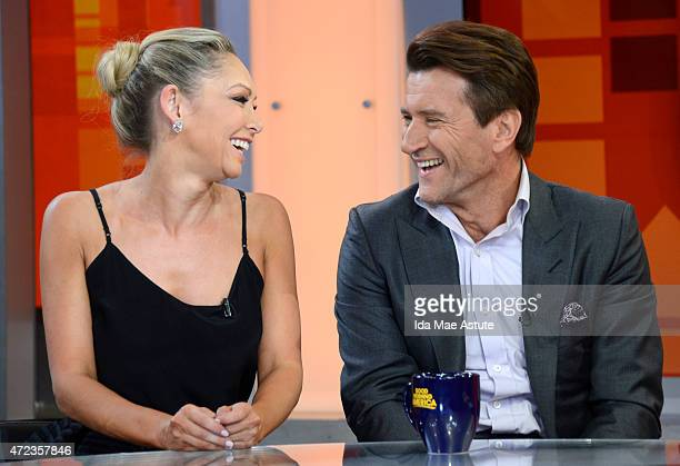 AMERICA Couples booted off 'Dancing With the Stars' appear on GOOD MORNING AMERICA 5/6/15 airing on the ABC Television Network KYM