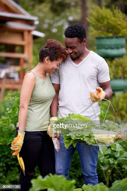 Couple's that garden together, grow together