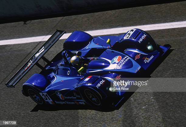 Courage Competition's C65 JPX driven by Philippe Alliot and David Halliday of France during the 24 Hour Le Mans PreQualifying testday held on May 4...