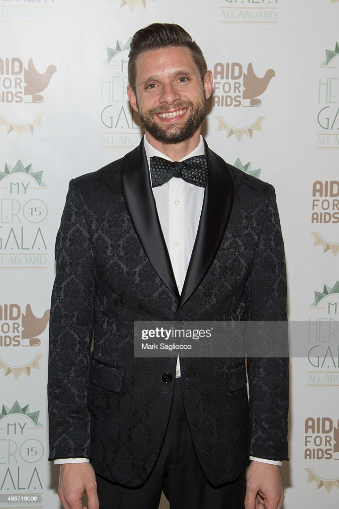 Courage Honoree Danny Pintauro attends the 2015 Aid For AIDS Gala at Cipriani Downtown on November 4, 2015 in New York City.